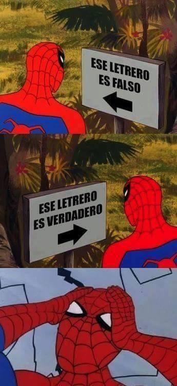 Spiderman60s - ¡Por qué os empeñáis en jugar con mi mente!