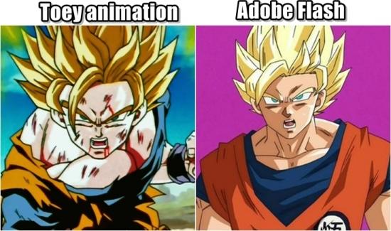 Meme_otros - Pequeñas diferencias en estilo de animación