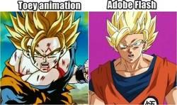 Enlace a Pequeñas diferencias en estilo de animación