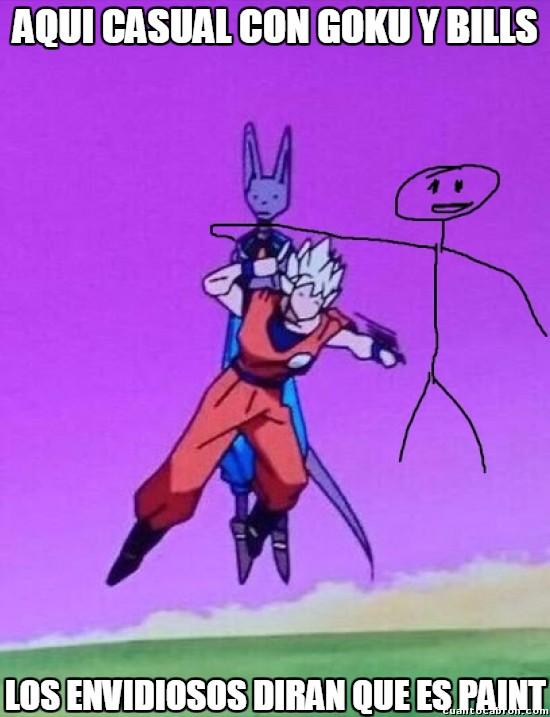 Meme_otros - Goku, Bills y yo