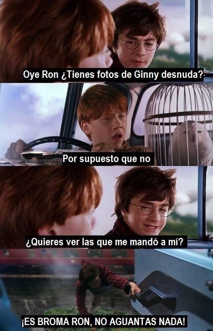 Otros - Y así fue cómo Ron se enfadó con Harry