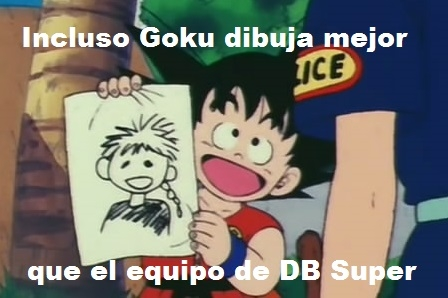 Son_goku - Mejor que contraten a Goku de dibujante