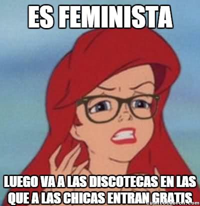 Ariel_hipster - Feminista cuando le interesa