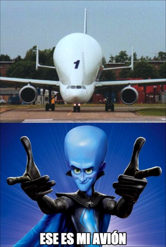 Meme_otros - Megamind tiene nuevo avión