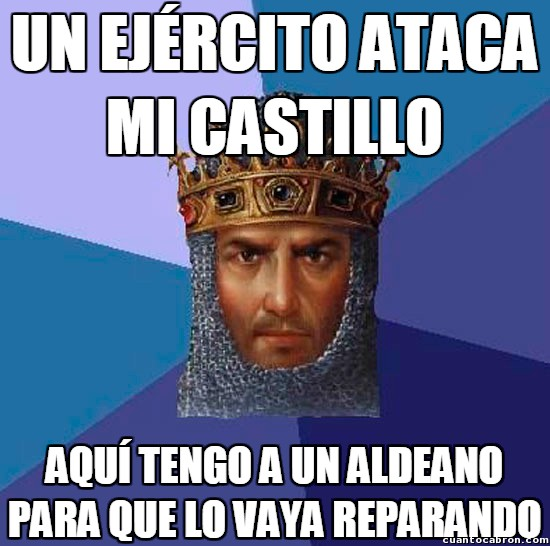 Age_of_empires - Reparación de infraestructuras, nivel: Age of Empires