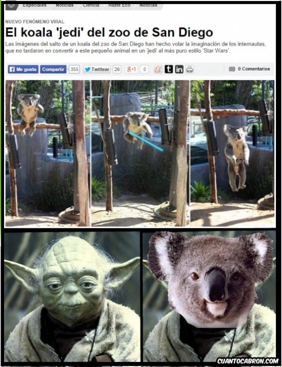 Otros - No volverás a ver a Yoda igual