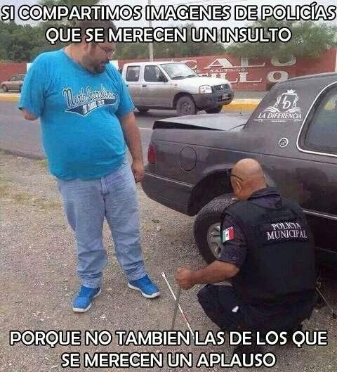 Meme_otros - Lo fácil es criticar a toda la policía por las cagadas de cuatro energúmenos, cuando en realidad...