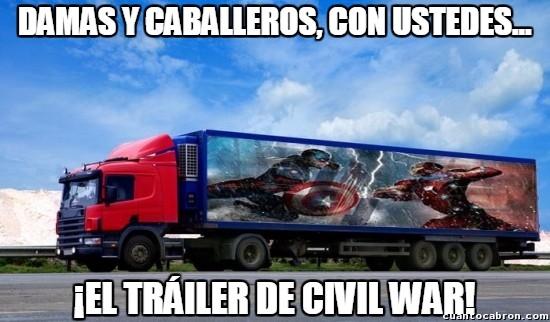 Meme_otros - ¡Tenemos el último tráiler de Civil War!