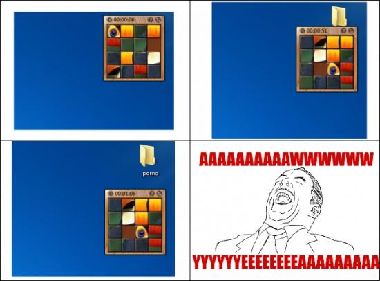 Aww_yea - El verdadero uso del Rompecabezas en Windows 7