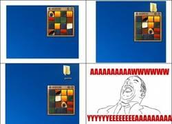 Enlace a El verdadero uso del Rompecabezas en Windows 7