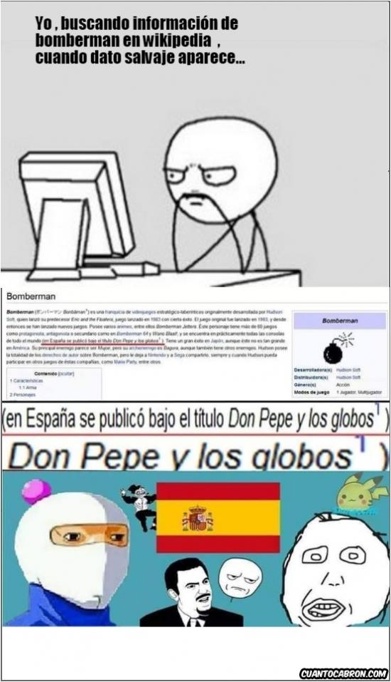 Retarded - Don Pepe y los globos, menuda tela