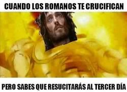 Enlace a Jesucristo siempre tiene un as en la manga