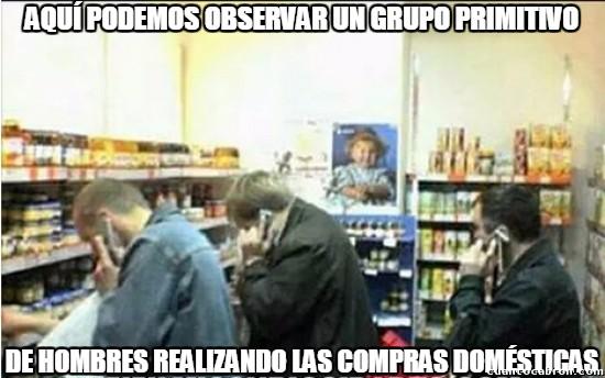 hombre,llamada,primitivo,supermercado