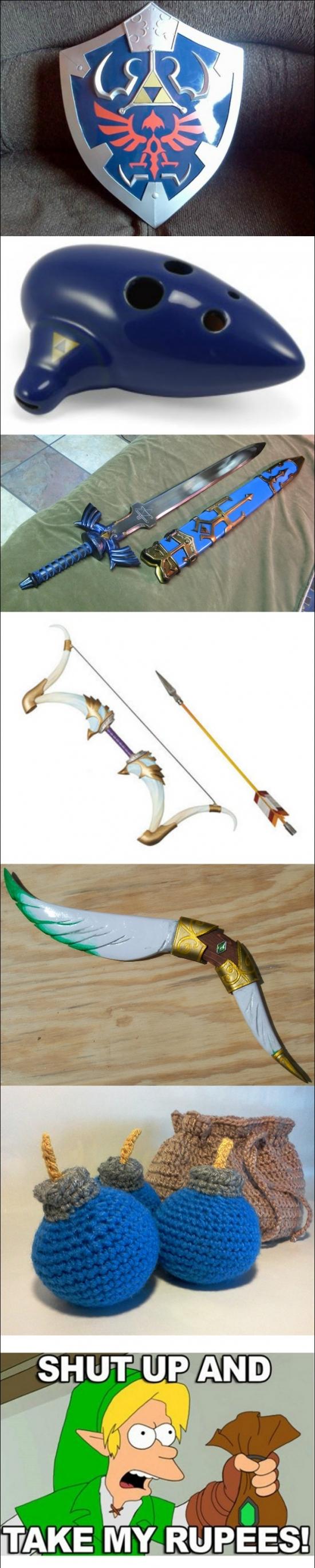 Otros - Si te consideras un fan de Zelda, debes conseguir los siguientes productos