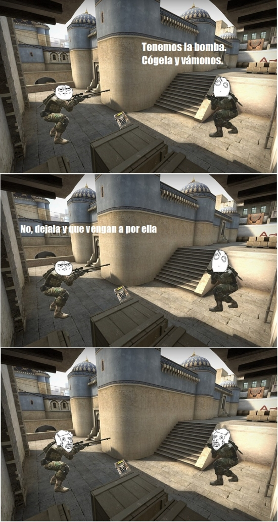 Mix - La lógica en Counter Strike