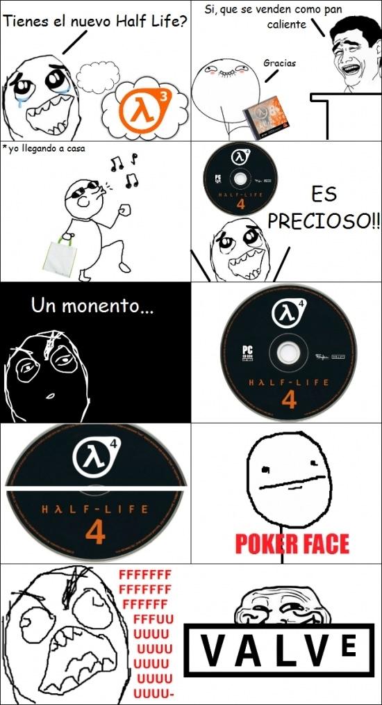 Ffffuuuuuuuuuu - ¿Y si nunca llega a salir Half-Life 3 porque...?