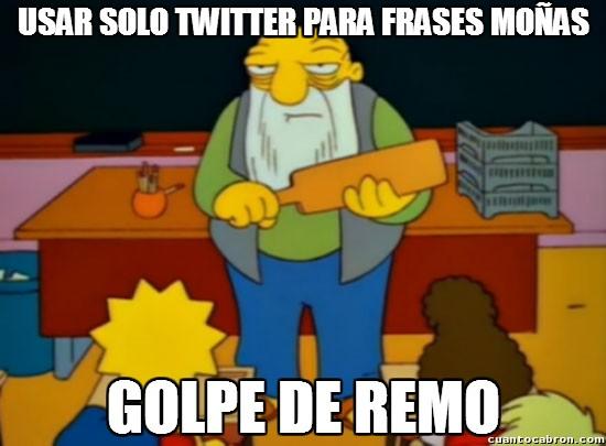 Golpe_de_remo - Twitter puede dar y ofrecer muchas más cosas que eso