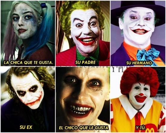 Meme_otros - Mi vida amorosa en forma de Jokers