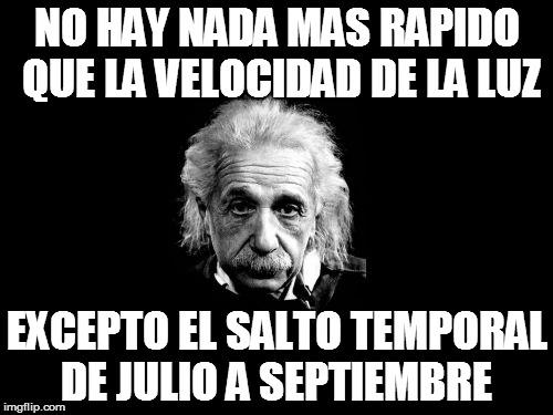 Meme_otros - Wake me up when september ends!