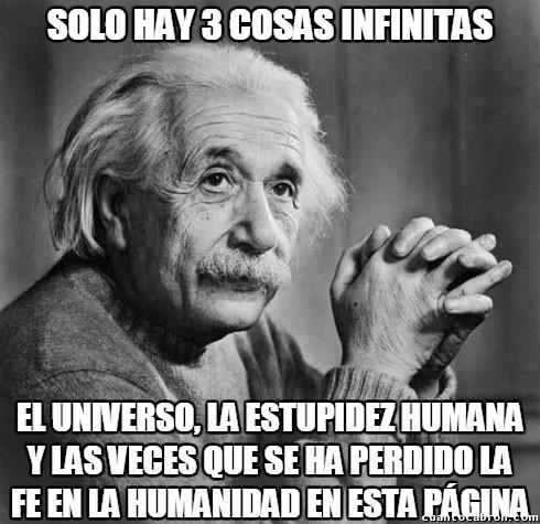 Tres_cosas_infinitas - La infinidad de veces que se ha perdido la fe en la humanidad en esta página...