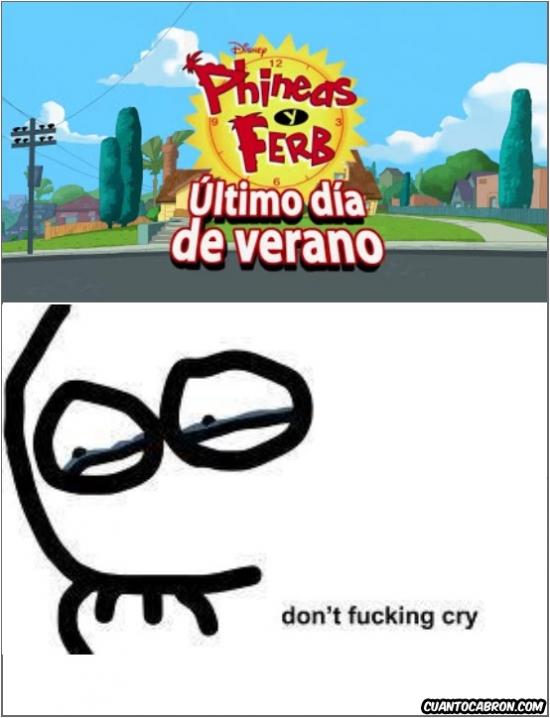 Otros - El último episodio de Phineas y Ferb... No llores...