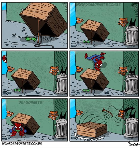 Otros - La mejor manera de atrapar a Spider-man