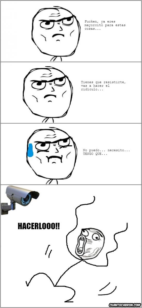Lol - Cuando ves una cámara de seguridad