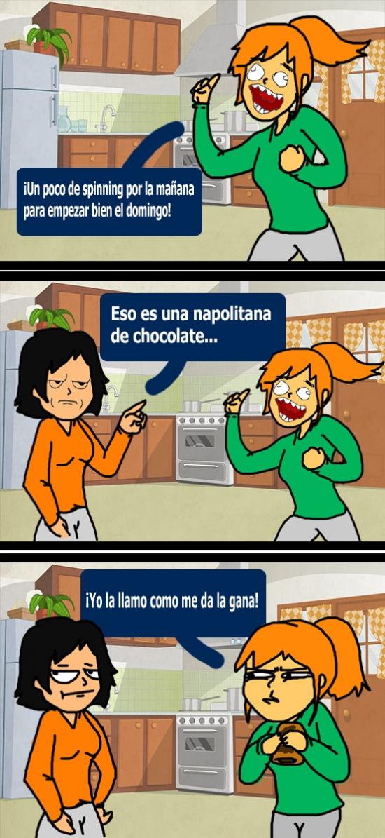Kidding_me - ¿Deporte o chocolate? ¿No es lo mismo?