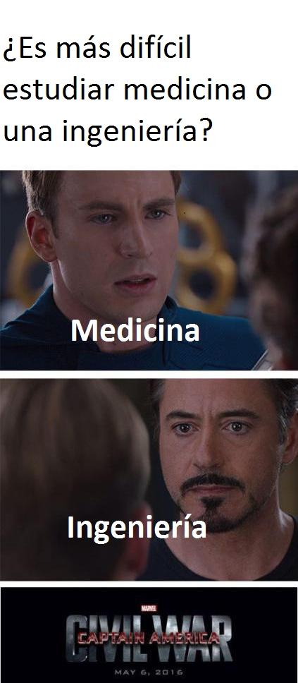 Meme_otros - ¿Medicina o ingeniería?