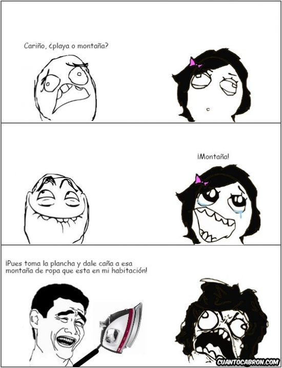 Ffffuuuuuuuuuu - El mejor truco para que tu esposa haga algunas tareas domesticas