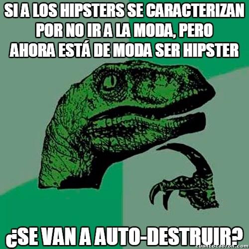 Philosoraptor - Crónica de la muerte anunciada de los hipsters