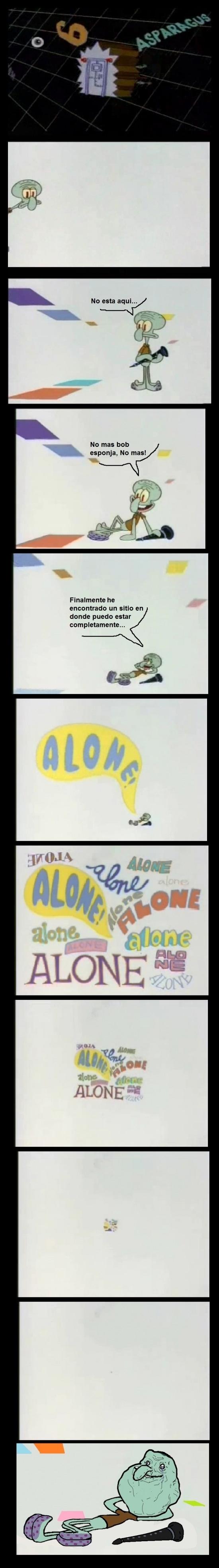 Forever_alone - No todo el mundo desprecia la soledad