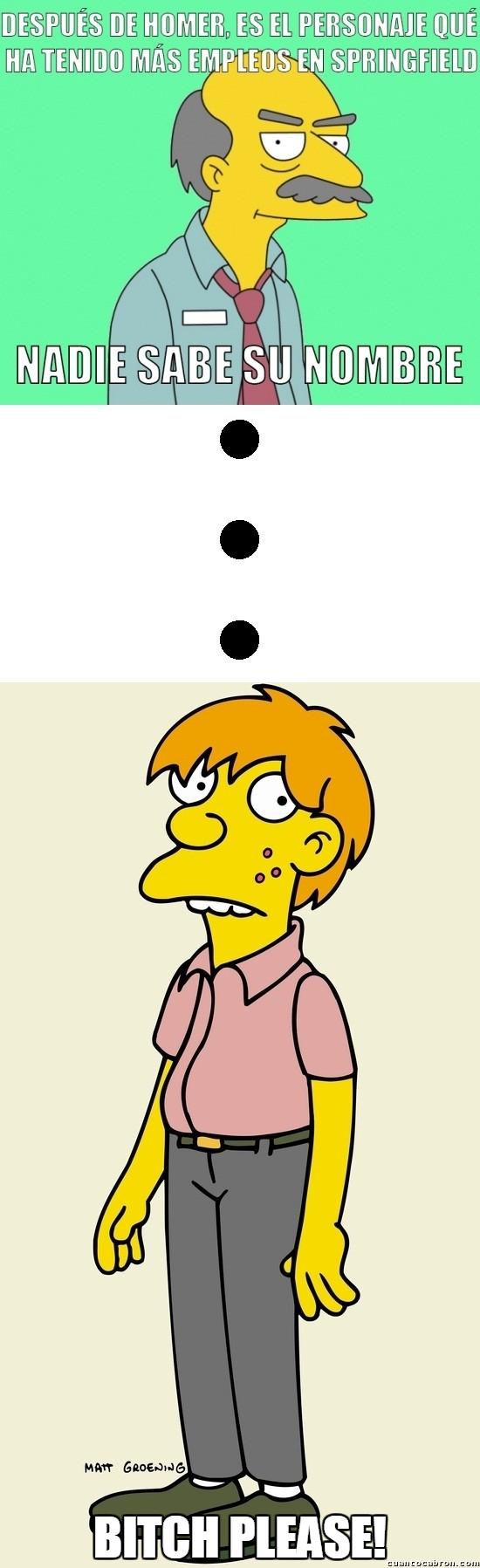 Meme_otros - Pues creo que no es el único en Springfield