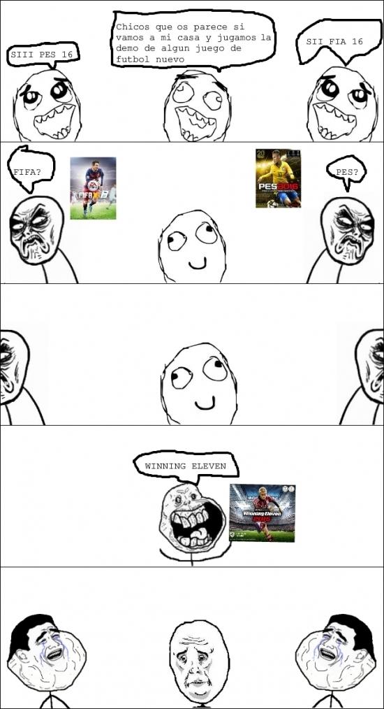 Infinito_desprecio - Infinito desprecio en juegos de fútbol