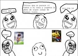 Enlace a Infinito desprecio en juegos de fútbol