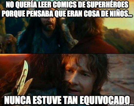 Meme_otros - La magia de los superhéroes no se entiende sin experimentarla
