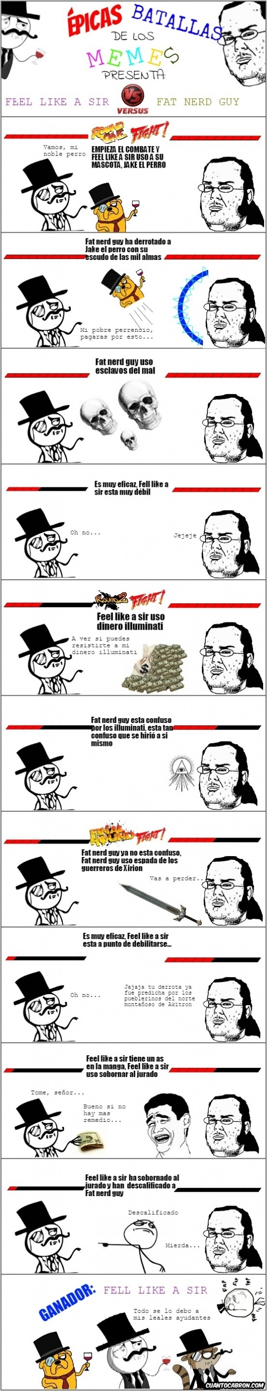 Mix - Épicas batallas de los memes: Feel like a sir vs. Friki