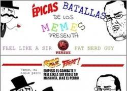 Enlace a Épicas batallas de los memes: Feel like a sir vs. Friki