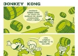 Enlace a Lo que nadie ve detrás de los barriles de Donkey Kong
