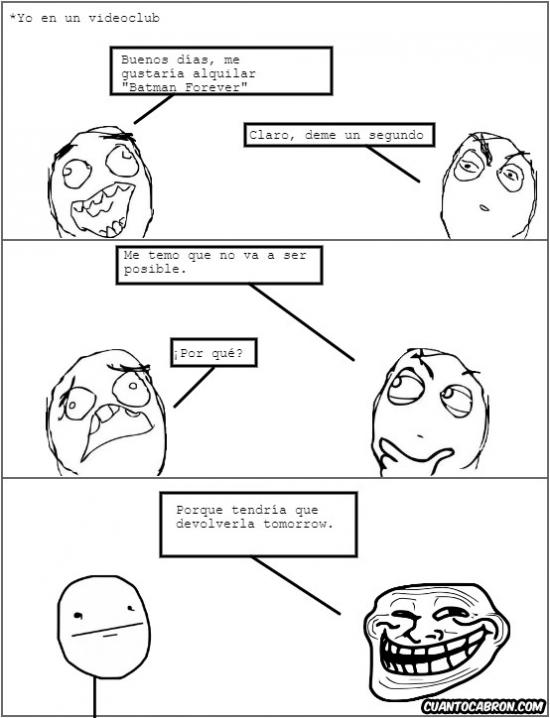 Trollface - Imposible de alquilar