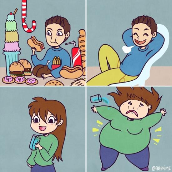Otros - La eterna exageración del peso según el género