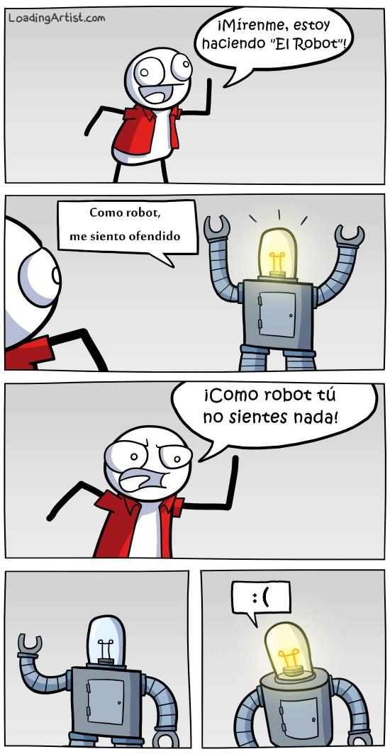 Otros - ¡Qué insensible con los robots!