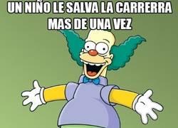 Enlace a Krusty es de los que olvidan rápido