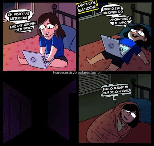 Otros - ¡Adoro las historias de terror por la noche!