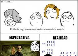 Enlace a Aprendiendo acerca de Matrix en clase