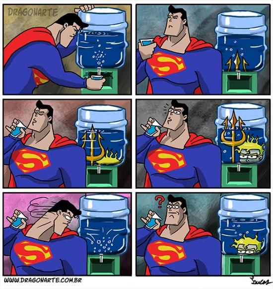Otros - Con Aquaman es difícil estar tranquilo en cualquier sitio