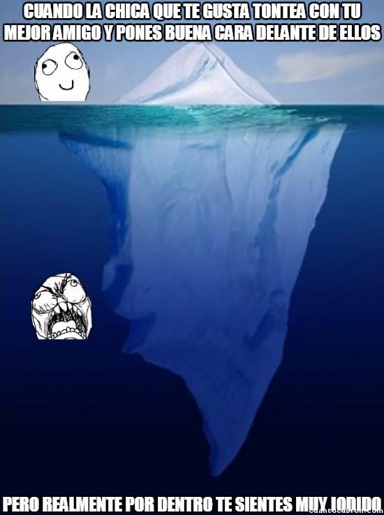 Meme_otros - Hay momentos en que has de aparentar calma cuando por dentro...