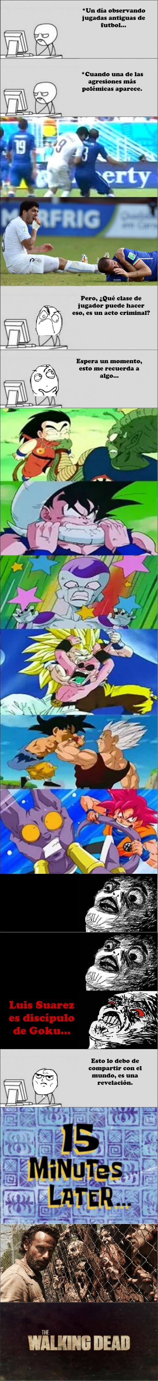 Otros - Hay cosas que hace Goku que no debemos aprenderle