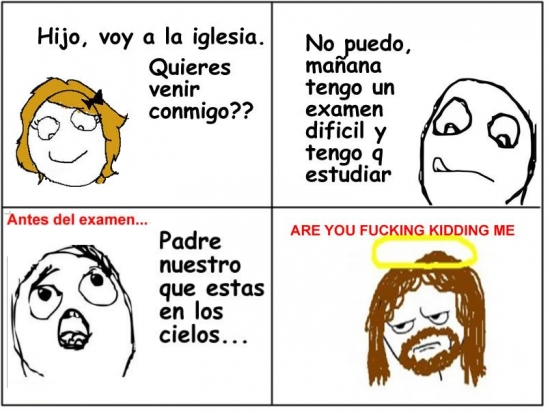 Kidding_me - Good Guy Jesus no actúa esta vez