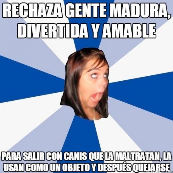 Amiga_facebook_molesta - Algunas chicas parece que elijan mal sus compañías a propósito